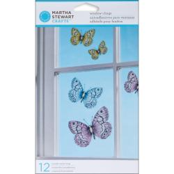 Martha Stewart Vintage Girl Window Clings (Pack of 12)