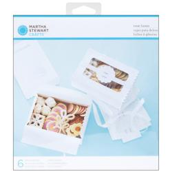 Martha Stewart Doily Lace Treat Boxes (Pack of 6)
