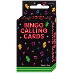 72-piece Bingo Calling Cards