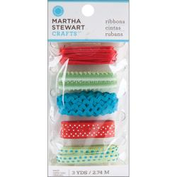 Martha Stewart Modern Festive Mixed Ribbons