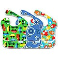 Bumkins Boy's Waterproof SuperBib (Pack of 3)