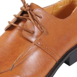 Boston Traveler Executive Collection Men's Leather Oxford Shoes