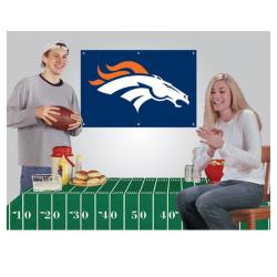 Denver Broncos NFL Football Party Kit