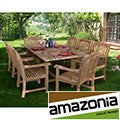 Cannes Rectangular 9-piece Teak Dining Set