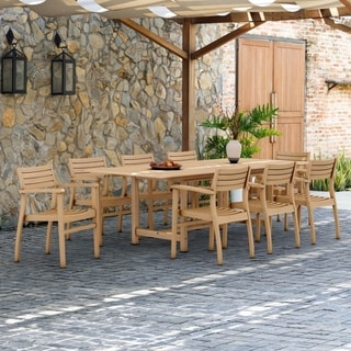 Paris 9-piece Teak Dining Set