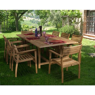 Paris 9-piece Teak Dining Set