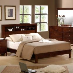 Sonata Display Headboard Queen-size Bed