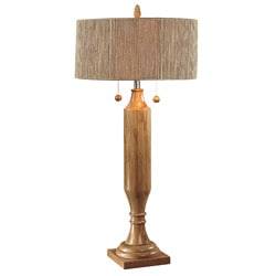 Natural Pole Wooden Table Lamp