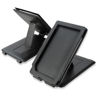 INSTEN Black Leather Phone Case Cover with Stand for Barnes & Noble Nook Color