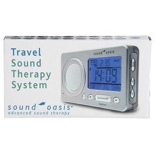 Sound Oasis S-850 Travel Sound Therapy System and Alarm Clock
