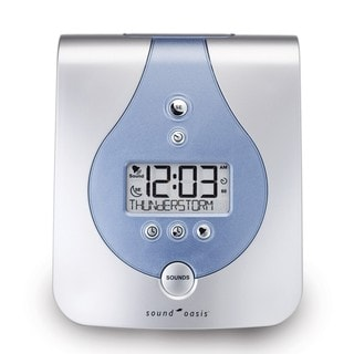 Sound Oasis S-650-01 Sound Therapy System and Alarm Clock