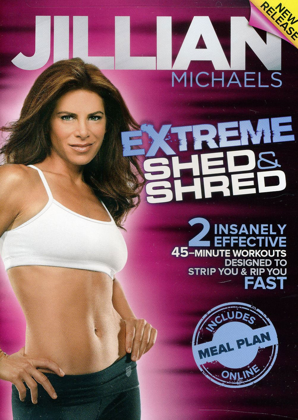 Jillian Michaels: Extreme Shed & Shred (DVD)