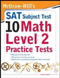 McGraw-Hills 10 SAT Math Level 2: Practice Tests (Paperback)