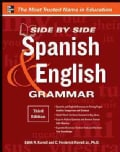 Side By Side Spanish & English Grammar (Paperback)