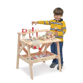 Melissa & Doug Wooden Project Workbench Activity Set
