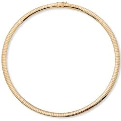 PalmBeach Goldtone 16-inch Omega Chain Tailored
