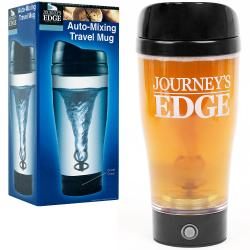 Auto-Mixing Travel Mug with Tornado Action