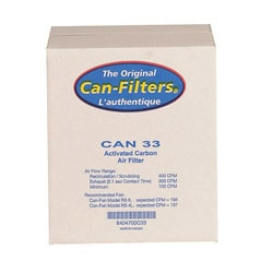 CAN 33 Carbon Filter with Prefilter