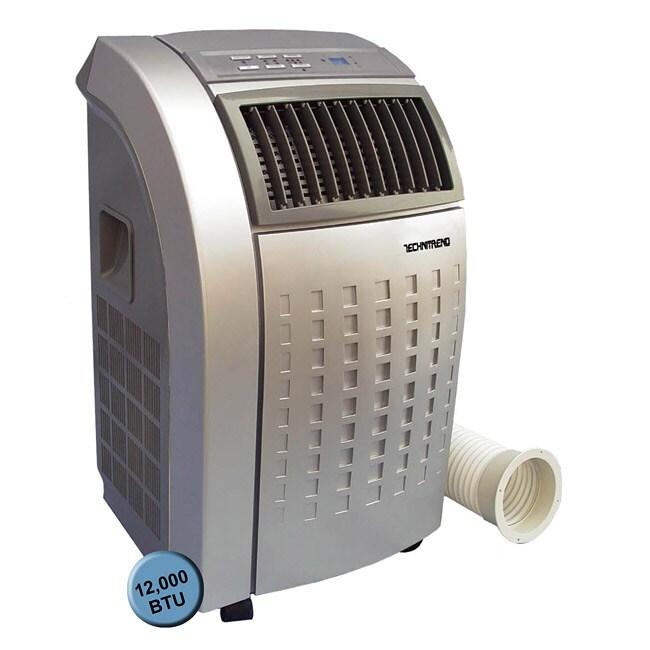 Grey 12,000 BTU Portable Air Conditioner
