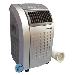 Grey 12,000 BTU Portable Air Conditioner