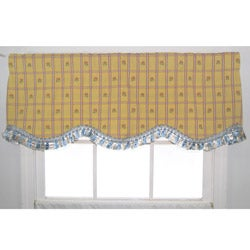 Windermere Yellow Provence Valance
