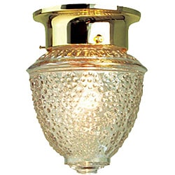 Woodbridge Lighting Basic 1-light Polished Brass Flush Mount (Pack of 12)