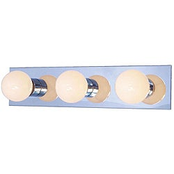 Woodbridge Lighting Basic 3-light Chrome Bath Bar
