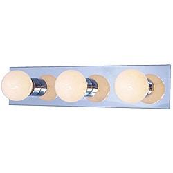 Woodbridge Lighting Basic 3-light Chrome Bath Bar