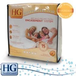 HealthGuard Bed Protector Bed Bug Full-size Mattress Encasement System