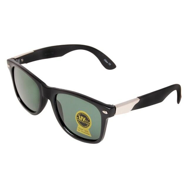 Unisex Black Fashion Sunglasses