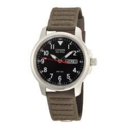 Citizen Men's Eco-Drive Canvas Strap Watch