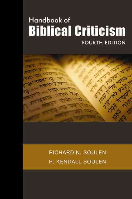 Handbook of Biblical Criticism (Paperback)