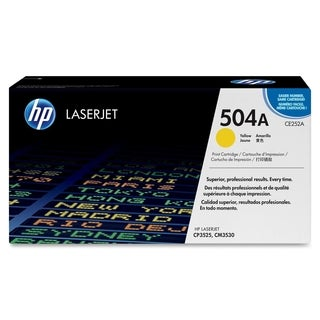HP 504A (CE252AG) Yellow Original LaserJet Toner Cartridge for US Gov