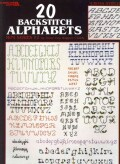 20 Backstich Alphabets (Pamphlet)