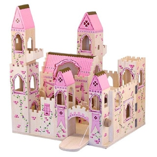 Melissa & Doug Folding Princess Castle Play Set