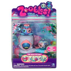 Zoobles Octopus and Whale Happitat Toy