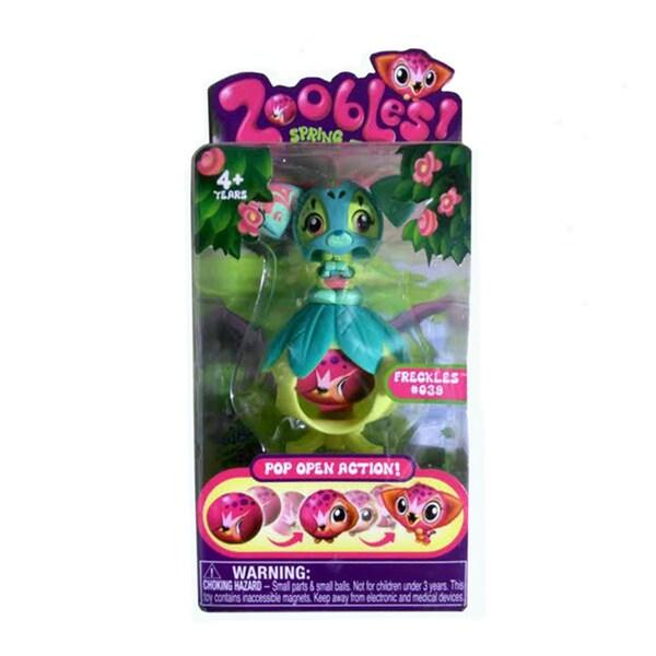 Zoobles Cat and Happitat Toy