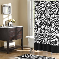 Home Essence Safari Shower Curtain