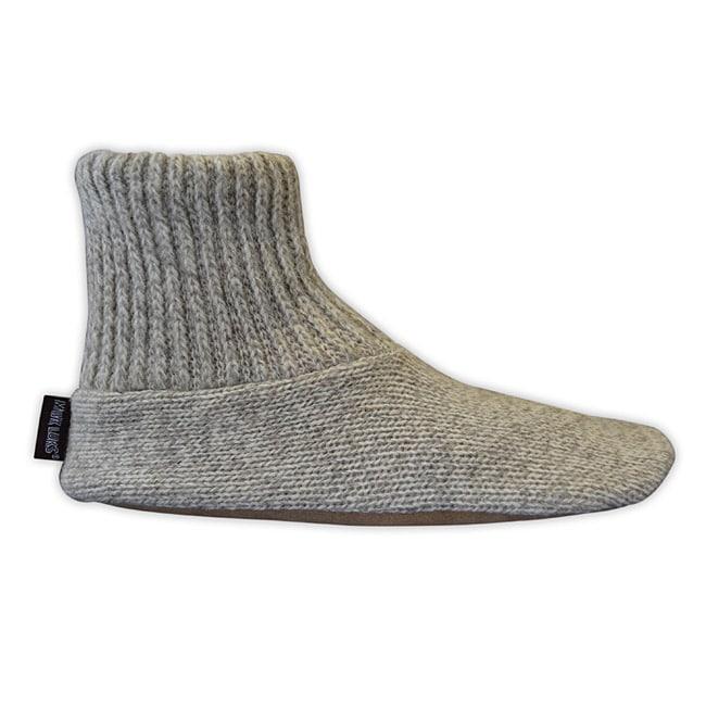 Muk Luks Menu0026#39;s Hand-Washable Ragg Wool Slipper Socks - 13841555 - Overstock.com Shopping - Big ...
