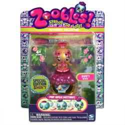 Zoobles Special Edition Bird and Happitat Toy