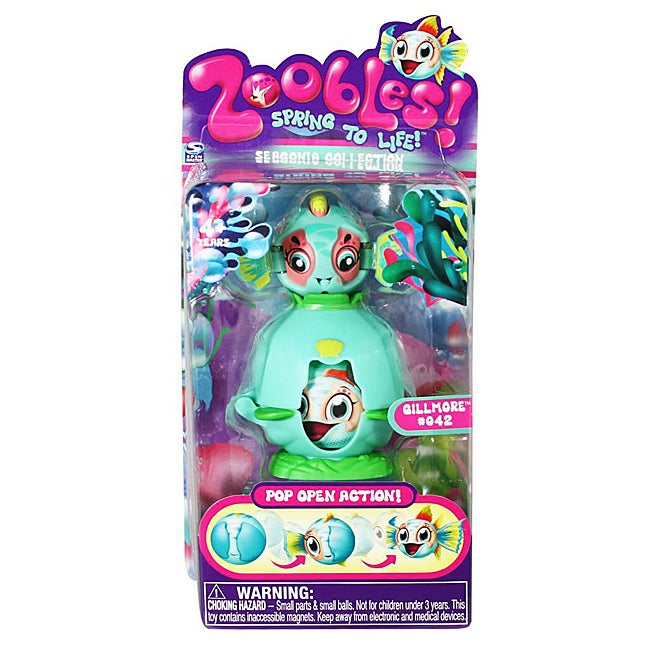 Zoobles Fish and Happitat Toy