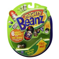 Spinmaster Mighty Beanz Assorted Six-pack Toy Set for Ages Five and Up