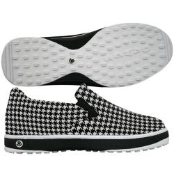 Dawgs Golf Men's Crossover Houndstooth Golf Shoes