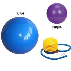 Yoga 26-inch Balance Ball with Foot Pump