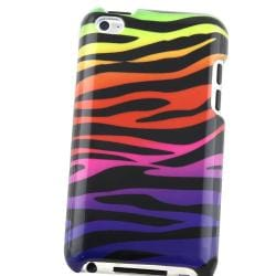 Colorful Zebra Case for Apple iPod Touch 4th Generation