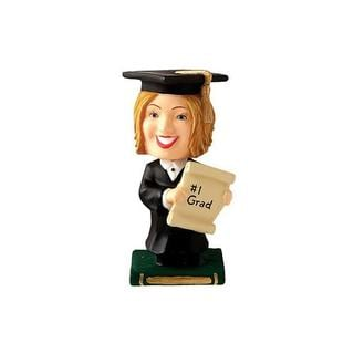 Wilton Graduate Girl Bobbling Cake Topper
