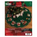 Candy Express Tree Skirt Felt Applique Kit