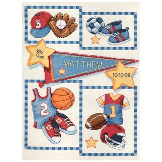 Baby Hugs Little Sports Cross Stitch Kit