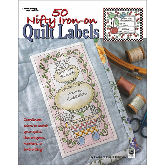 Leisure Arts 50 Nifty Iron-on Quilt Labels