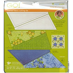 Accuquilt GO! Fabric Blazing Star Cutting Die